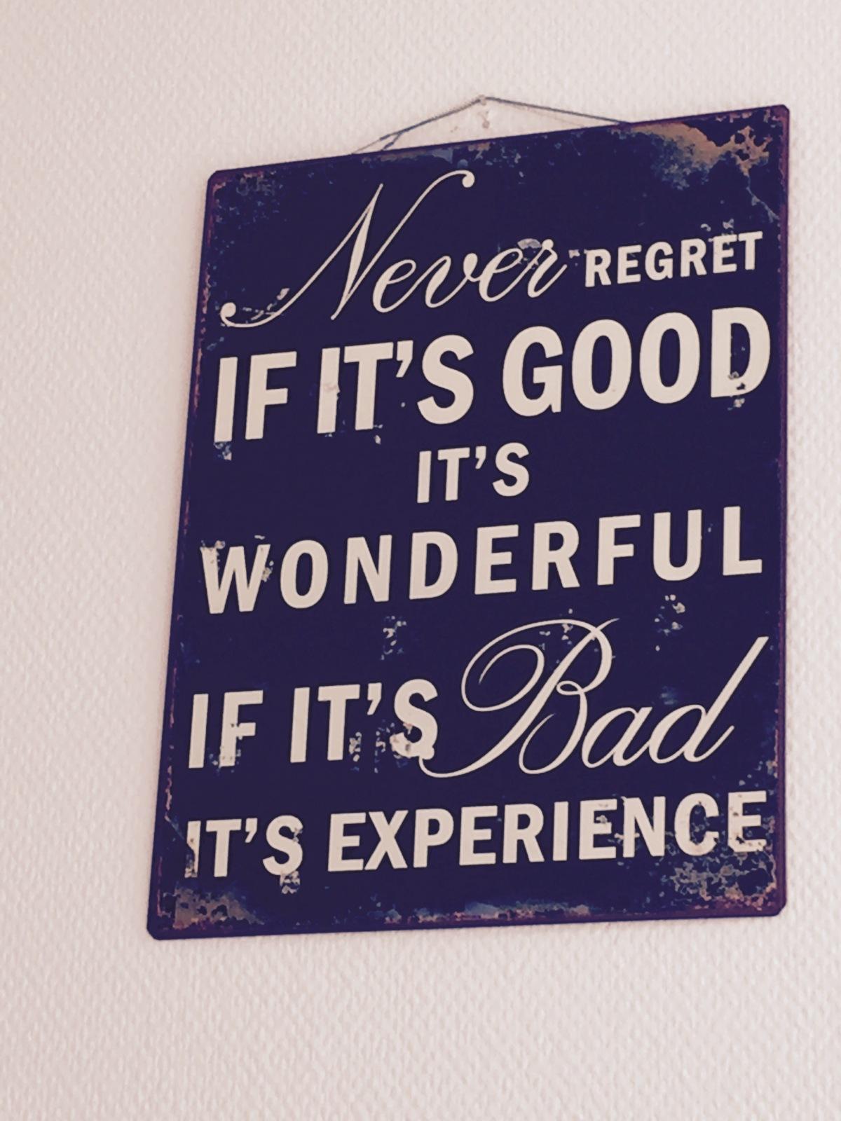 Bloggtorka nej – beprövad erfarenhet prövar mitthuvud!